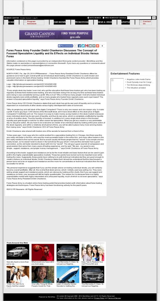 Forex Peace Army - KAZT IND-7 (Phoenix/Prescott, AZ)- Stock Liquidity Discussion