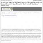 Forex Peace Army - San Bernardino County Sun (San Bernardino, CA)- Stock Liquidity Discussion