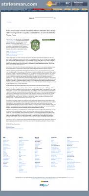 Forex Peace Army -  Austin American-Statesman (Austin, TX) - Stock Liquidity Discussion