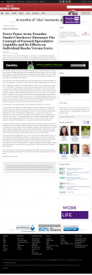 Forex Peace Army -  Dallas Business Journal - Stock Liquidity Discussion