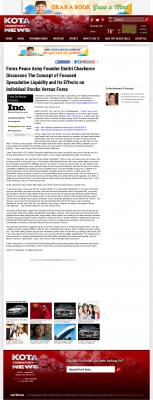 Forex Peace Army -  KOTA ABC-3 (Rapid City, SD) - Stock Liquidity Discussion