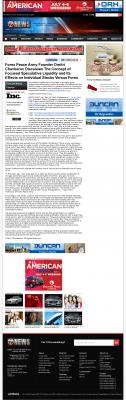 Forex Peace Army -  KSWO-TV ABC-7 (Lawton, OK) - Stock Liquidity Discussion