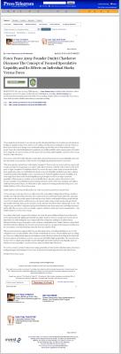 Forex Peace Army -  Long Beach Press-Telegram (Long Beach, CA) - Stock Liquidity Discussion