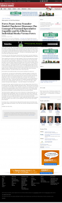 Forex Peace Army -  Minneapolis / St. Paul Business Journal - Stock Liquidity Discussion