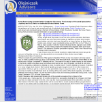 Forex Peace Army - Olejniczak Advisors- Stock Liquidity Discussion