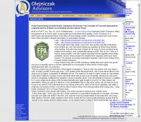 Forex Peace Army -  Olejniczak Advisors - Stock Liquidity Discussion