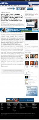 Forex Peace Army -  Philadelphia Business Journal - Stock Liquidity Discussion
