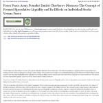 Forex Peace Army - San Bernardino County Sun (San Bernardino, CA)- Stock Liquidity Discussion
