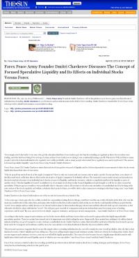 Forex Peace Army -  San Bernardino County Sun (San Bernardino, CA) - Stock Liquidity Discussion
