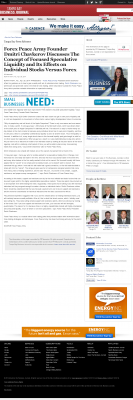 Forex Peace Army -  Tampa Bay Business Journal - Stock Liquidity Discussion
