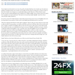 Forex Peace Army Analyzes Stock Liquidity Points for The State (Columbia, SC)