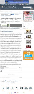 Forex Peace Army -  Tribune (San Luis Obispo, CA) - Stock Liquidity Discussion