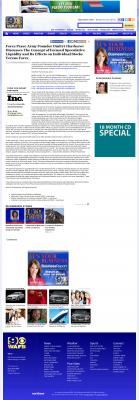 Forex Peace Army -  WAFB CBS-9 (Baton Rouge, LA) - Stock Liquidity Discussion