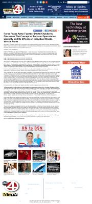 Forex Peace Army -  WCIV-TV ABC-4 (Charleston, SC) - Stock Liquidity Discussion