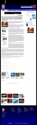 Forex Peace Army -  WFLX FOX-29 (West Palm Beach, FL) - Stock Liquidity Discussion