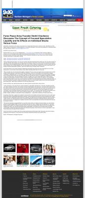 Forex Peace Army -  WWTV-TV CBS-9 (Cadillac, MI) - Stock Liquidity Discussion