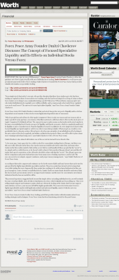 Forex Peace Army -  Worth - Stock Liquidity Discussion