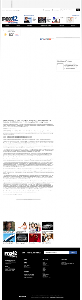 Dmitri Chavkerov - KPTM-TV FOX-42 (Omaha, NE)- Effectively Dealing With Losing Trades Discussion